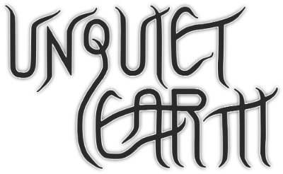Unquiet Earth Logo White
